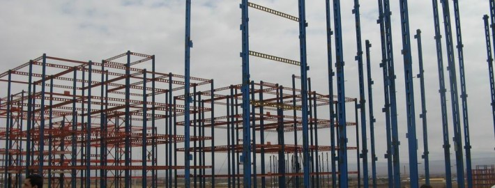 اسکلت ساختمان
