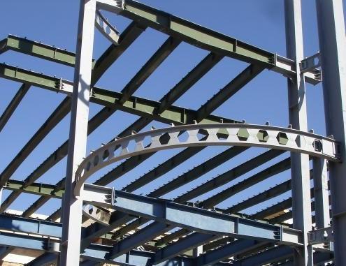 سازه فلزی بایگانی - گروه پیمانکاری نماسازه فولادی