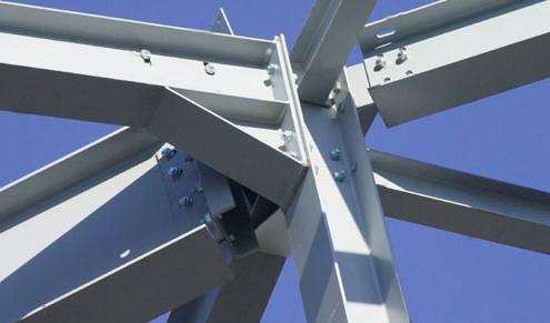 سازه فلزی بایگانی - گروه پیمانکاری نماانواع سازه های فولادی